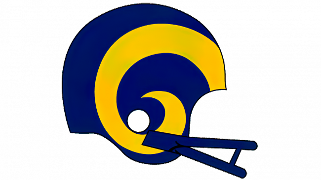 Los Angeles Rams Logotipo 1983-1988