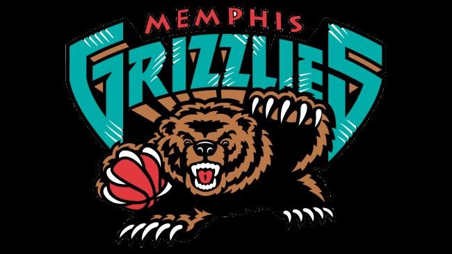 Memphis Grizzlies Logotipo 2002-2004 (1)