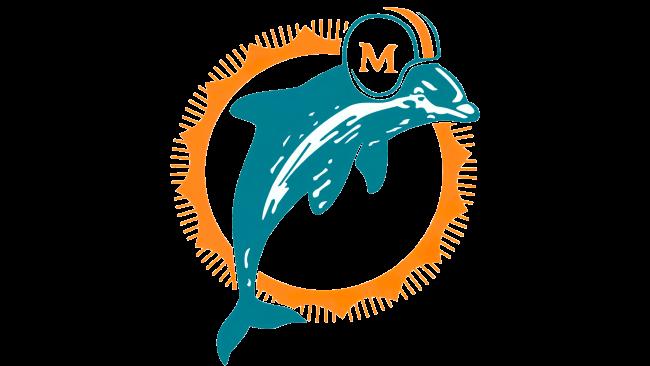 Miami Dolphins Logotipo 1974-1989