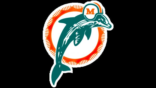 Miami Dolphins Logotipo 1989-1996