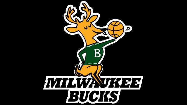 Milwaukee Bucks Logotipo 1968-1993