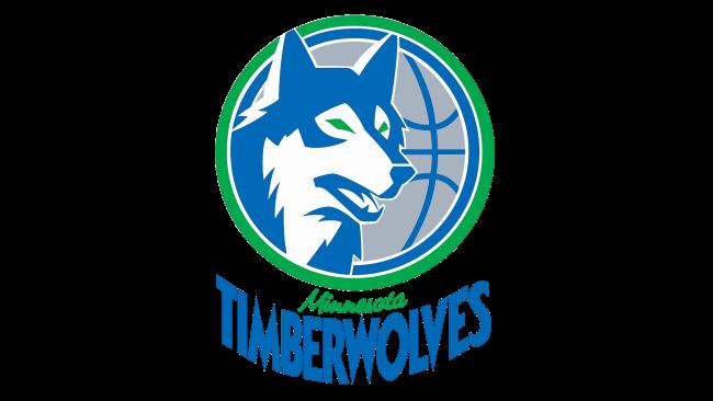 Minnesota Timberwolves Logotipo 1990-1996