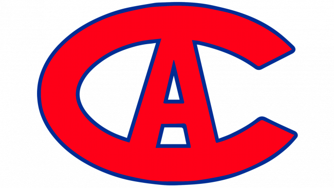 Montreal Canadiens Logotipo 1914-1917