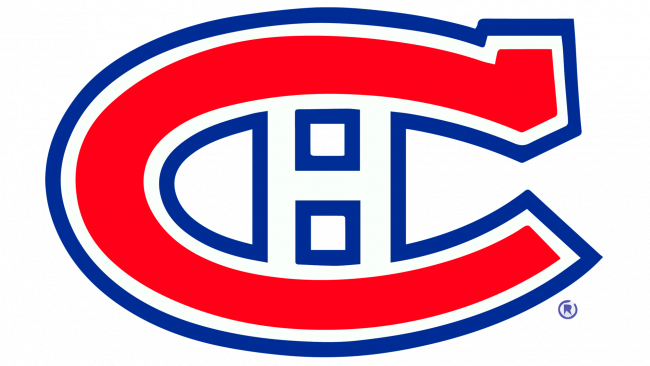 Montreal Canadiens Logotipo 1948-1956