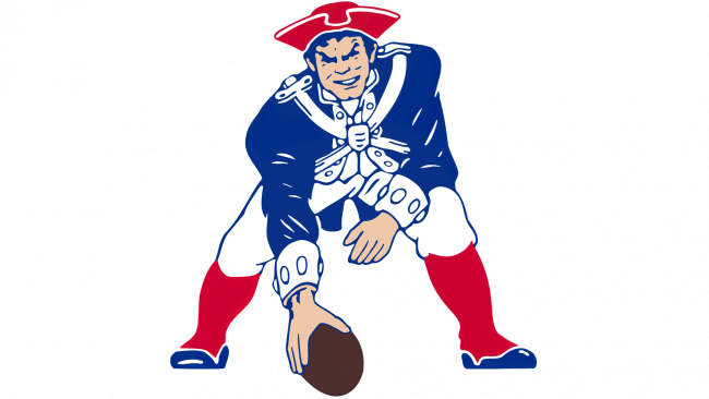 New England Patriots Logotipo 1972-1988