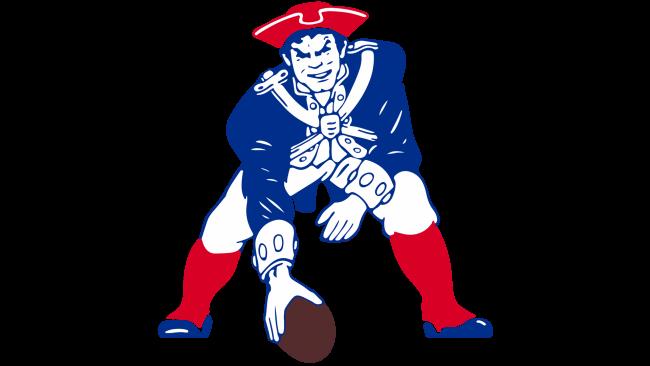 New England Patriots Logotipo 1989-1992