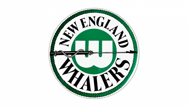 New England Whalers Logotipo 1973-1979