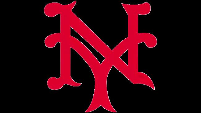 New York Giants Logotipo 1924-1927