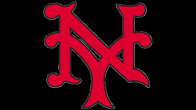 New York Giants Logotipo 1930-1932