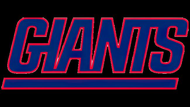 New York Giants Logotipo 1976-1999