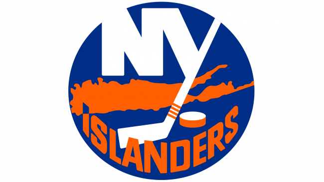 New York Islanders Logotipo 1973-1995