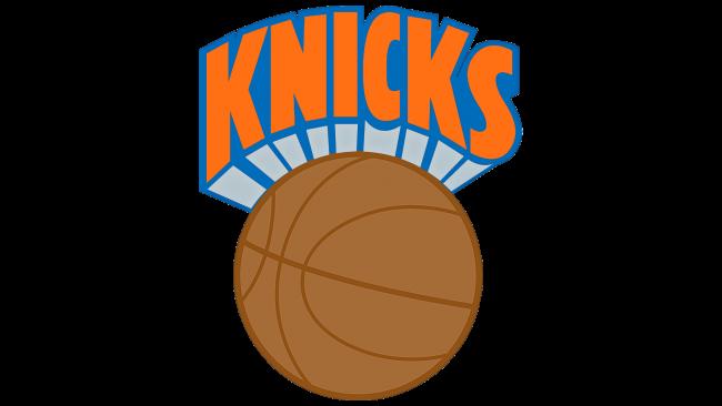 New York Knicks Logotipo 1984-1989