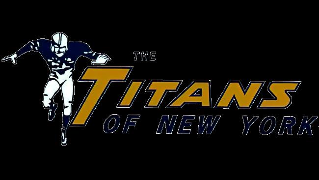 New York Titans Logotipo 1960-1962
