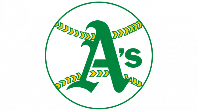 Oakland Athletics Logotipo 1968-1970