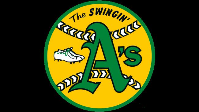 Oakland Athletics Logotipo 1971-1981
