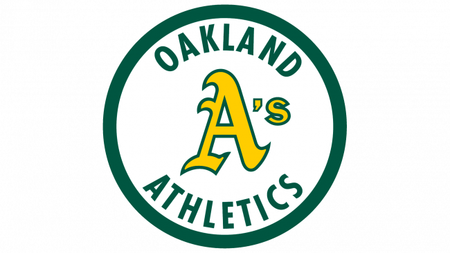 Oakland Athletics Logotipo 1982-1992
