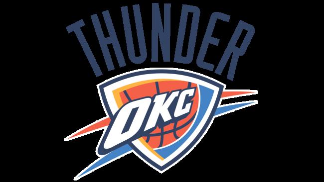 Oklahoma City Thunder Logotipo 2009-Presente