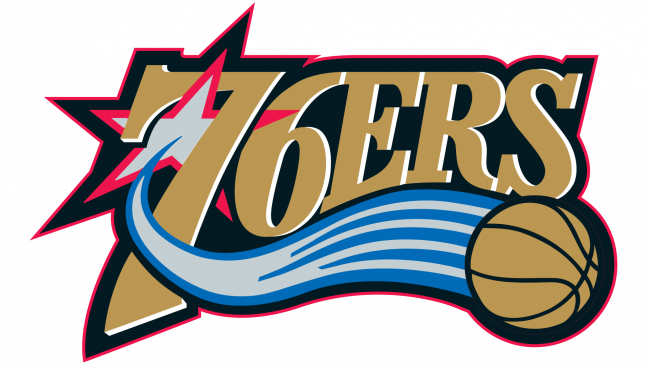 Philadelphia 76ers Logotipo 1998-2009