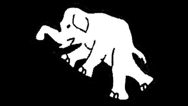 Philadelphia Athletics Logotipo 1924-1927