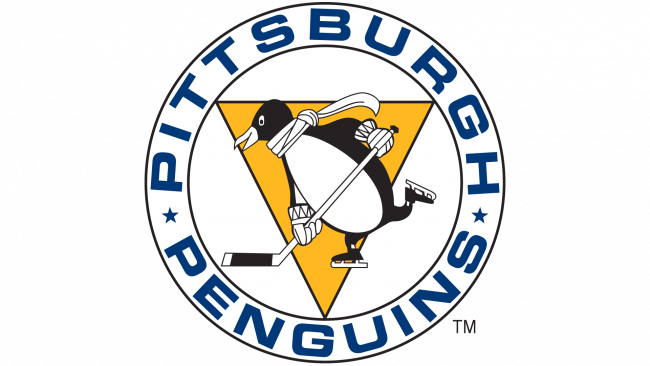 Pittsburgh Penguins Logotipo 1967-1968
