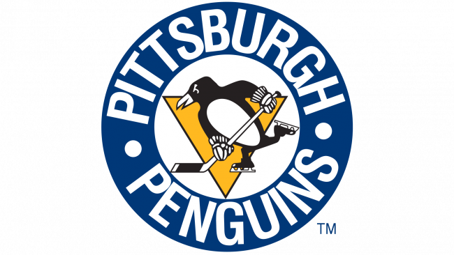 Pittsburgh Penguins Logotipo 1968-1972