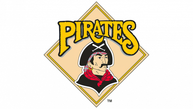 Pittsburgh Pirates Logotipo 1987-1996