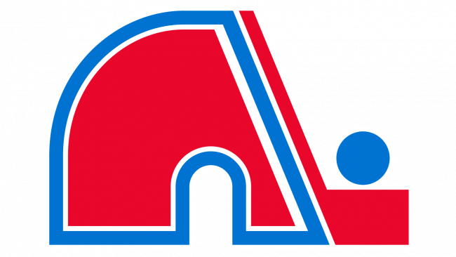 Quebec Nordiques Logotipo1985-1995