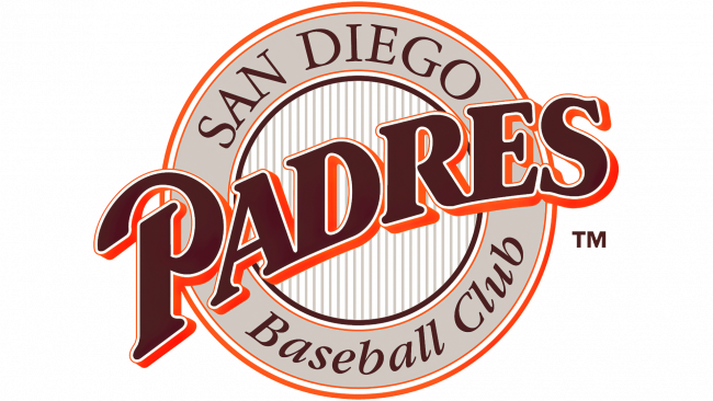 San Diego Padres Logotipo 1990
