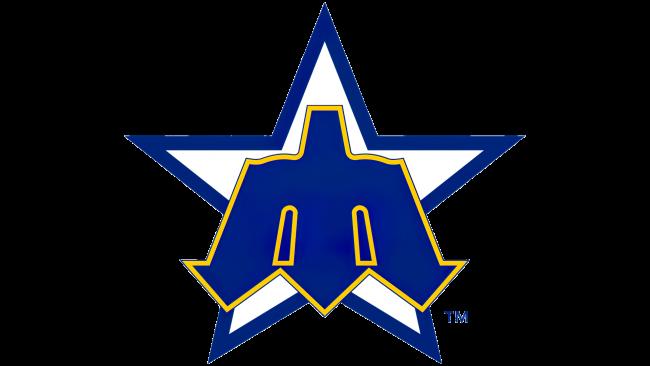 Seattle Mariners Logotipo 1981-1986