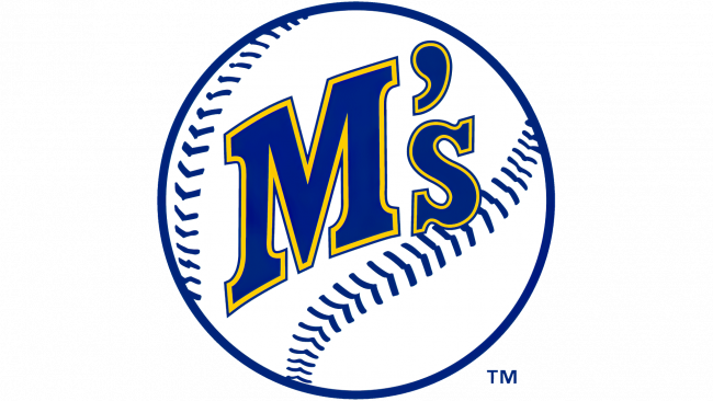 Seattle Mariners Logotipo 1987-1992