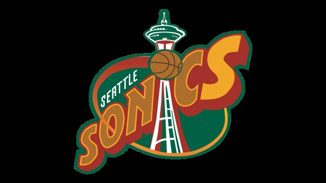 Seattle Sonics Logotipo 1996-2001