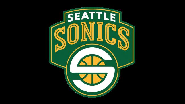 Seattle Sonics Logotipo 2002-2008