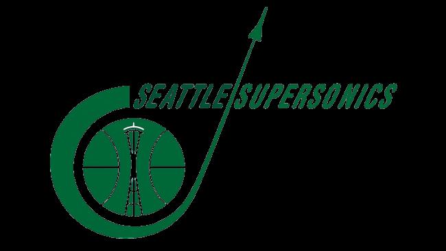 Seattle SuperSonics Logotipo 1968-1970