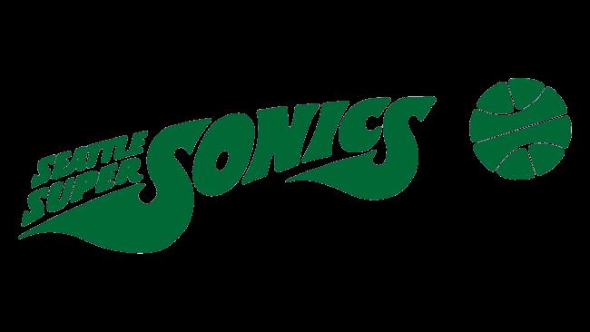 Seattle SuperSonics Logotipo 1972-1975