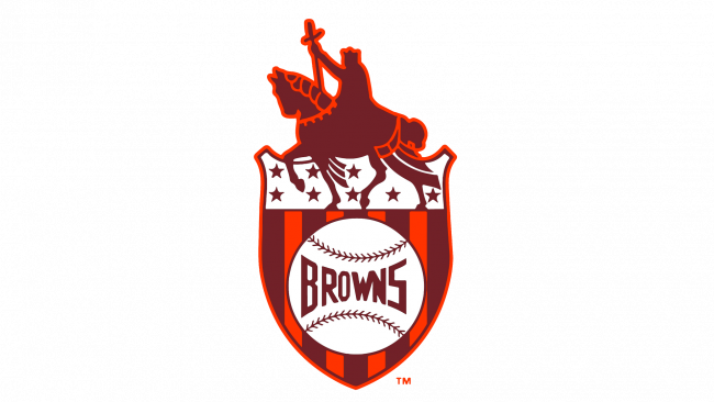 St. Louis Browns Logotipo 1936-1951