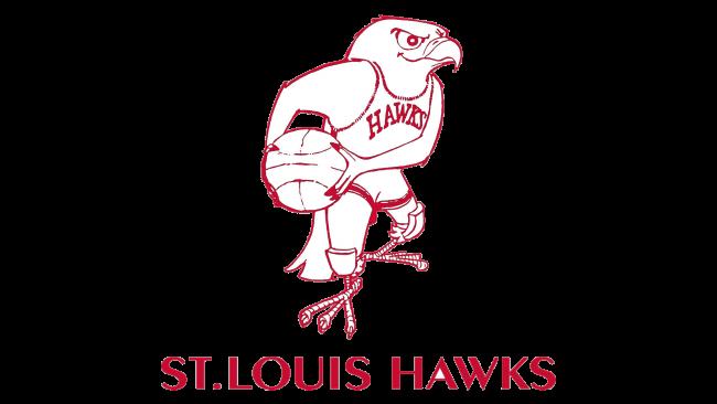 St. Louis Hawks Logotipo 1957-1968