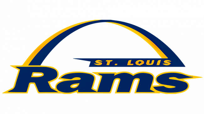 St.Louis Rams Logotipo 1995-1999