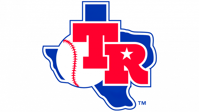 Texas Rangers Logotipo 1982-1983
