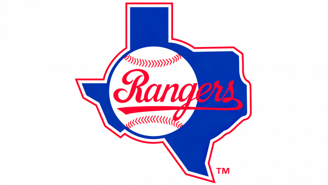 Texas Rangers Logotipo 1984-1993