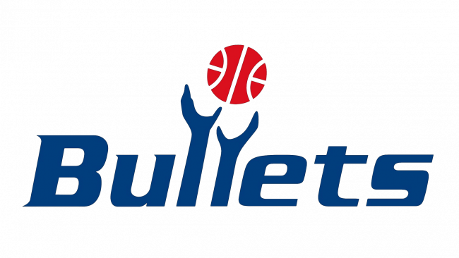 Washington Bullets Logotipo 1987-1997
