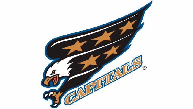 Washington Capitals Logotipo 1995-1997