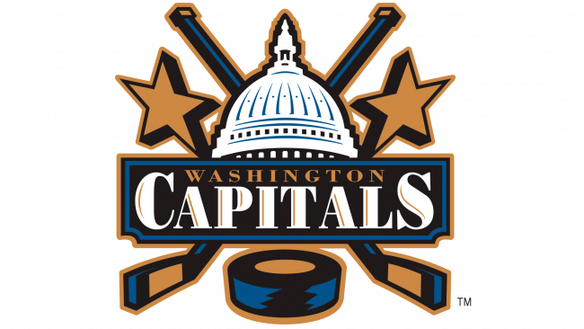 Washington Capitals Logotipo 2002-2007