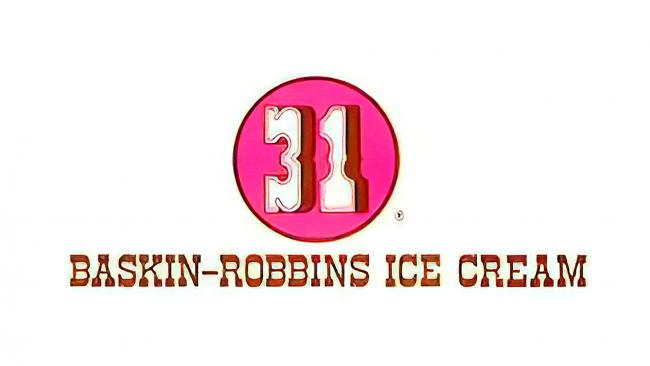 Baskin Robbins Logotipo 1947-1991