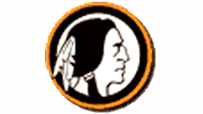 Boston Redskins Logotipo 1933-1936
