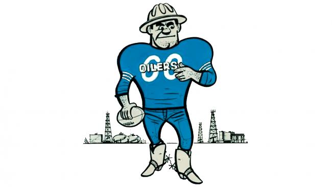 Houston Oilers Logotipo 1961-1968