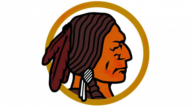 Washington Redskins Logotipo 1937-1951