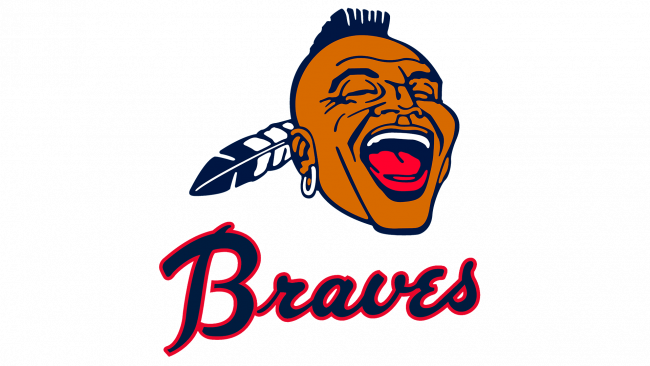 Atlanta Braves Logo 1968-1971