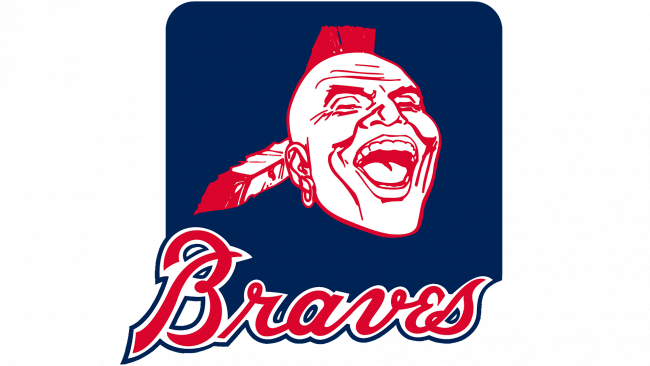 Atlanta Braves Logo 1987-1989