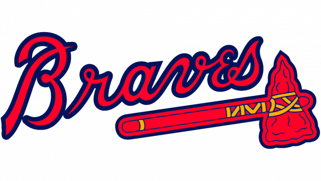 Atlanta Braves Logo 1990-2017