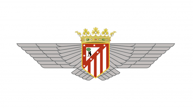 Atletico Madrid Logotipo 1941-1942